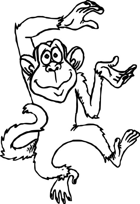 cute monkey coloring pages coloring part 3 monkey coloring pages page image clipart images grig3 org