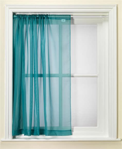 teal net curtains teal slot voile panel from net curtains direct