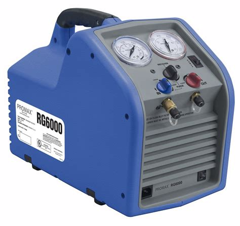 What Is A Refrigerant Recovery Machine by Promax Rg6000 Portable Refrigerant Recovery Machine