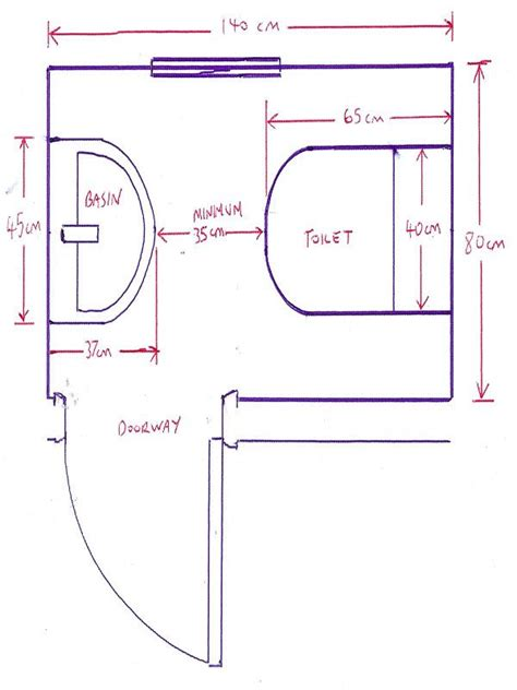 css layout minimum width minimum size for a downstairs toilet with bathroom