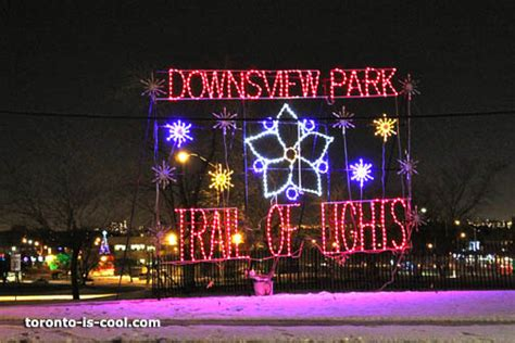Trail Of Lights Downsview Park Lights