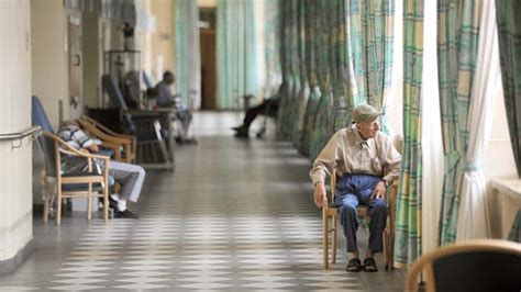 elderly crisis in state care homes