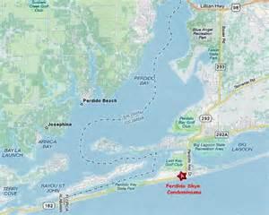 where is perdido key florida on the map perdido key florida condo luxury vacation rental on