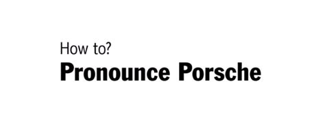 how to pronounce this is how to pronounce porsche video dpccars