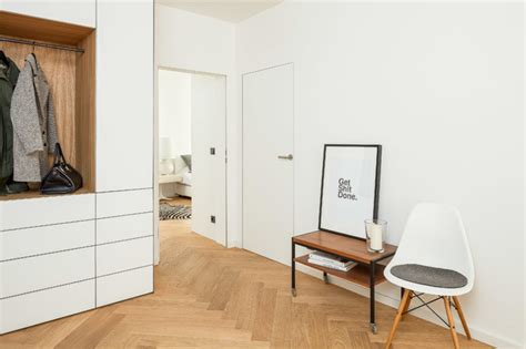 flur einrichten skandinavisch eingangsbereich mit garderobe