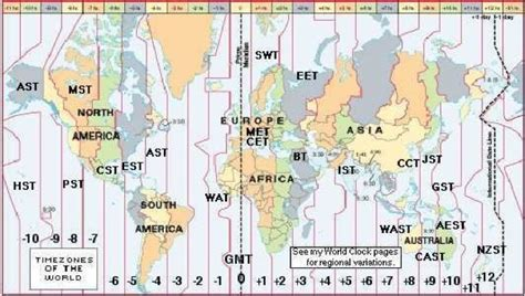 gmt time zone map usa canada time zone map