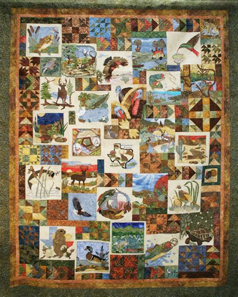 Quilts Theme by Pals Dogs Pre Cut Quilt Blocks Kit Wildlife