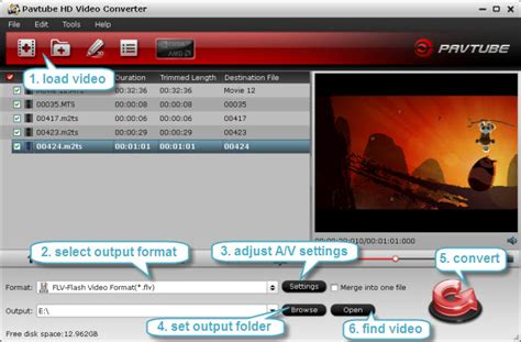 format video mts how to convert mts to flv f4v and swf format for