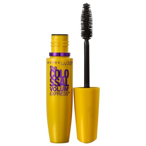Mascara Maybelline Colossal m 225 scara maybelline the colossal volum express beleza na web