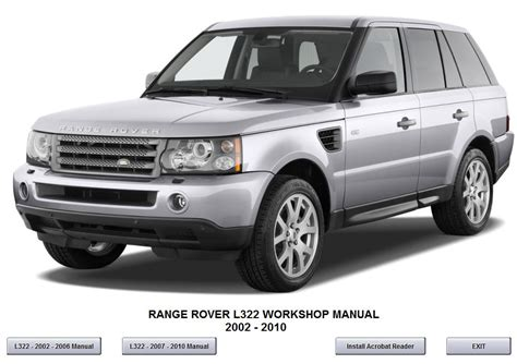 range rover l322 2007 2010 workshop service repair manual downl