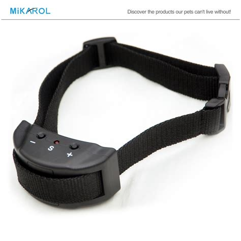 small bark collar 2 in 1 anti no bark bark collar for small dogs electric shock barking
