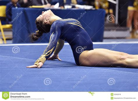 penn state floor l 2015 ncaa gymnastics wvu penn state editorial stock