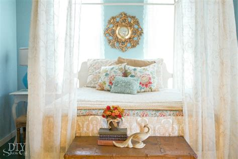 blue and gold bedroom decor eclectic guest bedroom ideas diy show off diy