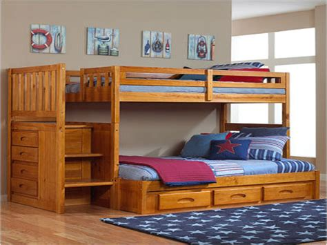 solid wood kids bedroom set high resolution bunk bed with stairs and slide 8 toddler