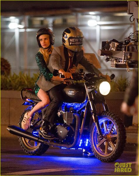 Motorrad Film Nerve emma roberts has the nerve to take motorcycle ride