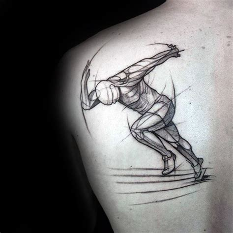 running tattoos for men 40 unique back tattoos for manly design ideas
