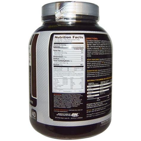 Hydro Whey Protein platinum hydrowhey 1 59 kg optimum nutrition