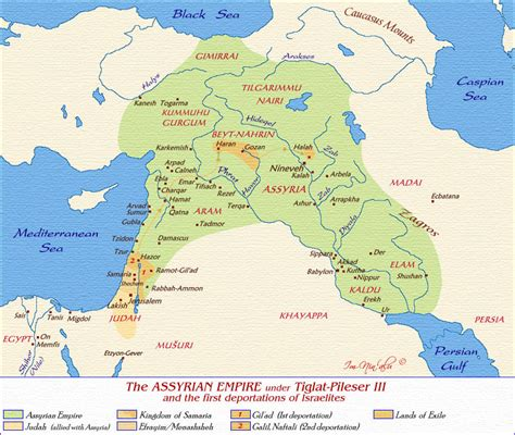 middle east map civ v map of the assyrian empire tiglat pileser iii click