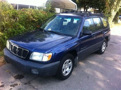 2001 subaru forester vin jf1sf63571h716114 autodetective com sell used 2001 subaru forester l 2 5 1 owner vehicle no reserve upper eng noise 5speed in