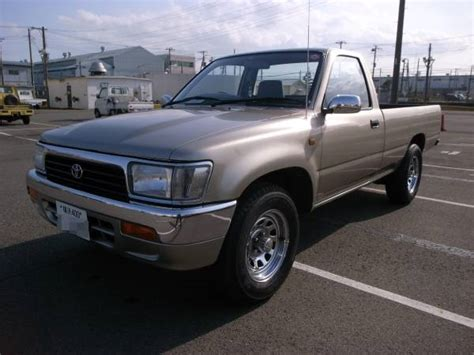 toyota pickup dealers 1997 toyota hilux single cab for sale japan jpn