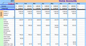 accounting budget template home budget accounting system easy to use home finance