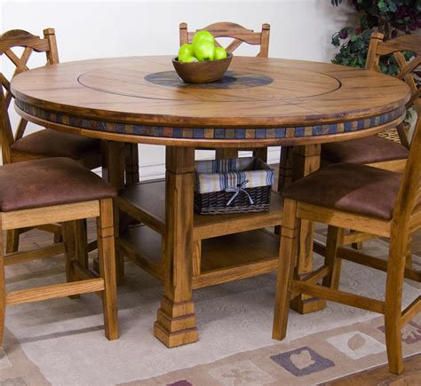 lazy susan dining room table round dining room table with lazy susan s