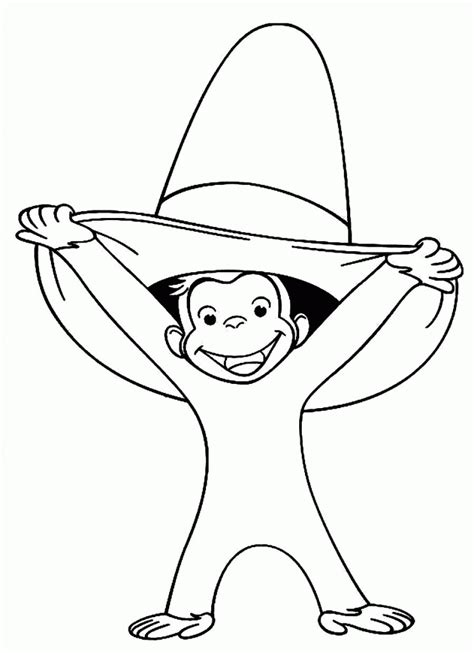 curious george coloring page pdf curious george sheets pdf coloring pages