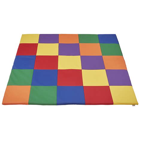 Classroom Floor Mats by Elr 031 Patchwork Toddler Mat Primary