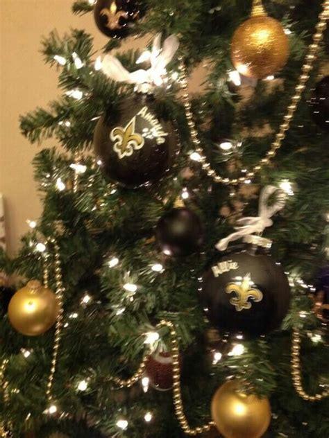 saints christmas tree my new orleans saints diva den
