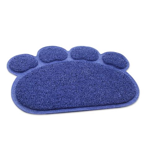 Paw Cleaner Mat by New Pet Puppy Dish Bowl Feeding Food Mat Wipe Clean
