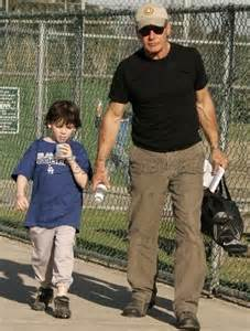Harrison Ford S Children Harrison Ford And Liam Leave Baseball Babies