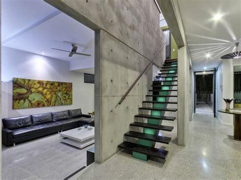 Log Garage Designs contemporary concrete house in brisbane homedsgn