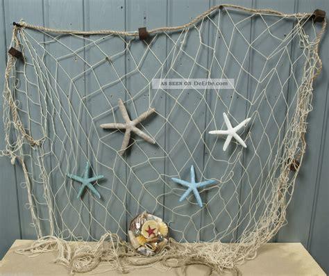 fischernetz deko badezimmer maritim dekorieren surfinser