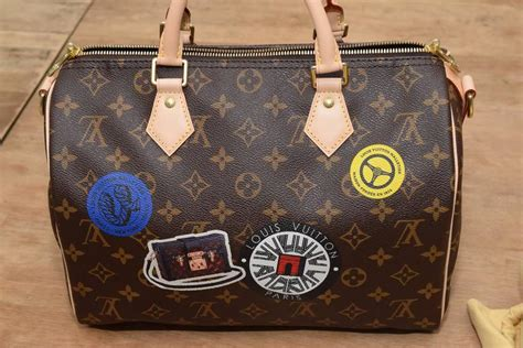 Lv Bandouliere World Tour louis vuitton speedy bandouliere 30cm world tour for sale