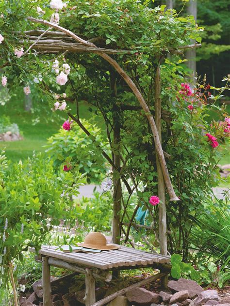 Handmade Garden - my twig and twine nest handmade for the garden time to