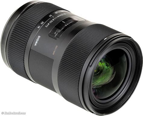 Sigma 35mm sigma 18 35mm f 1 8 review