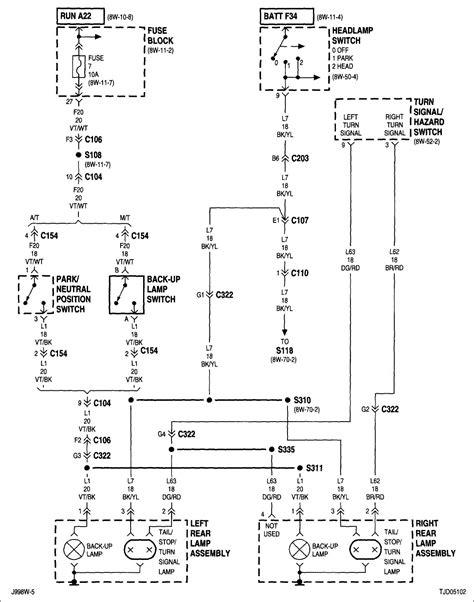 1994 Jeep Wrangler Headlight Wiring Diagram Camizu Org