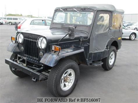 mitsubishi j54 used 1985 mitsubishi jeep n j54 for sale bf516087 be forward