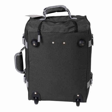 lightweight cabin wheeled travel luggage trolley