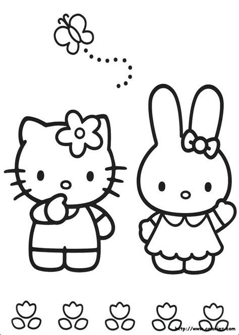 hello kitty coloring pages roll aniway nl toon onderwerp dick bruna in het geweer