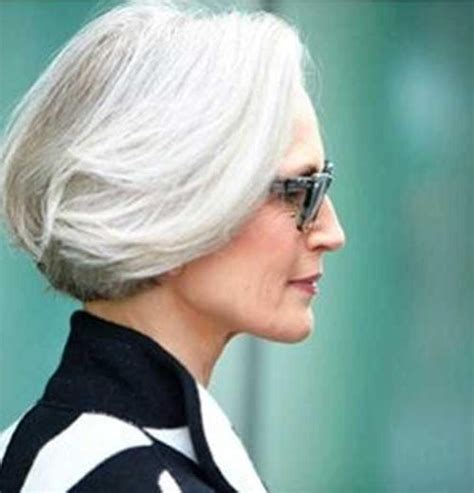 hairstyles for coarse gray hair 20 best ideas of short haircuts for coarse gray hair