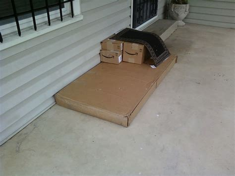 Fedex Left At Front Door 10 Times The Ups Hid Someone S Package In The Worst Way Possible
