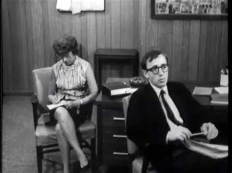 candid camera tv episode woody allen dictates a letter