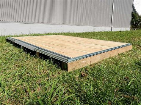 garden shed wooden floor kit