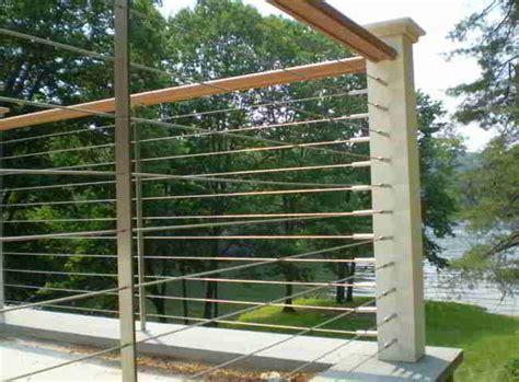 Patio Rails by Deck Patio Porch Balcony Cable Railing Modern Deck