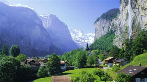 swiss alps majestic lauterbrunnen switzerland world for travel