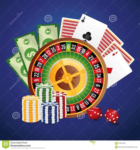 design concept las vegas casino icon desin stock vector image 67607465