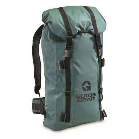 guide gear waterproof bag backpack 657773 gear