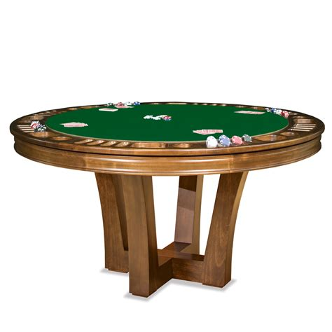 metro reversible poker table by thos. baker