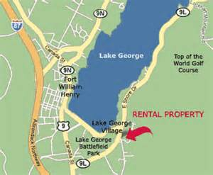 luxury rental home in lake george new york located